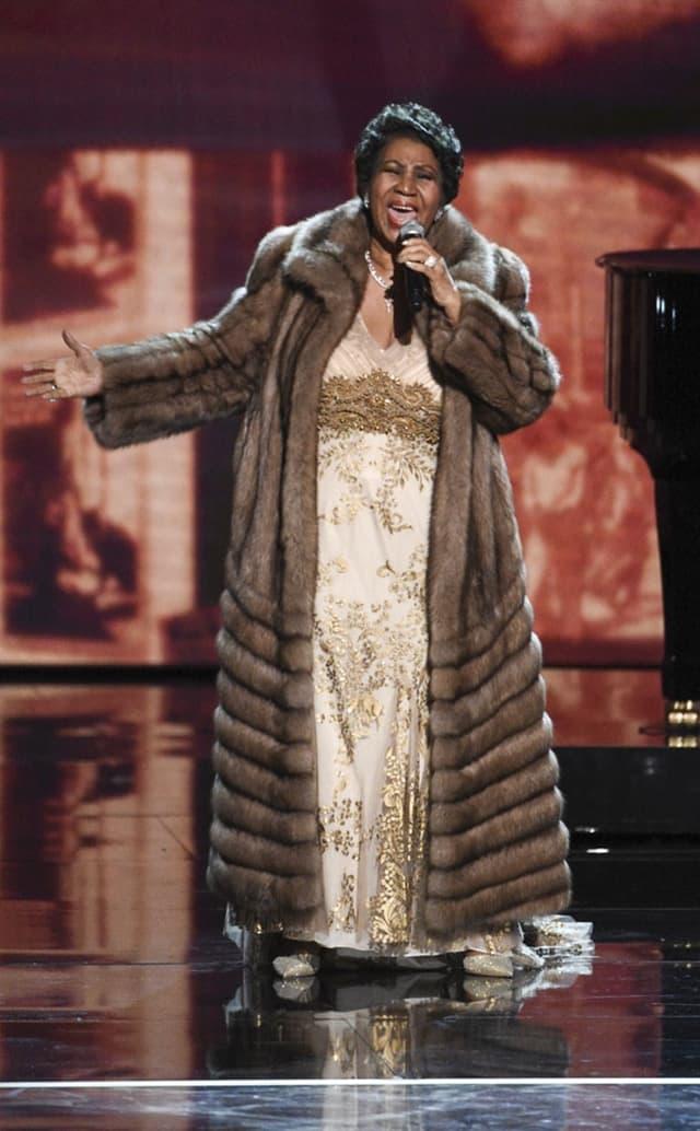 Aretha je fantastičnim nastupom oduševila sve prisutne (foto: Screenshot)