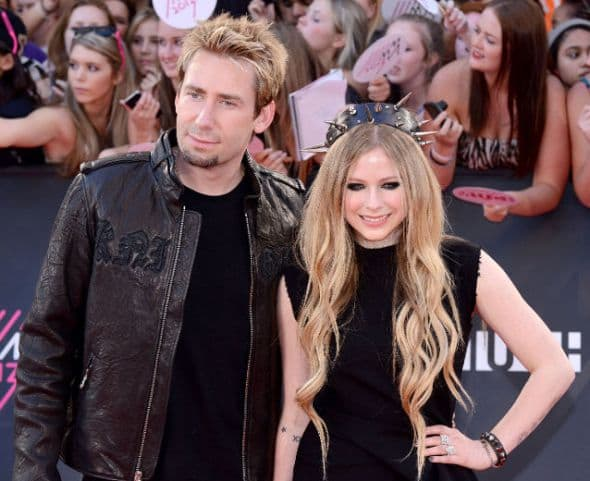 Avril Lavigne and Chad Kroeger-wenn