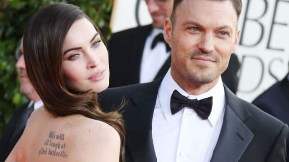 Megan Fox and Brian Austin Green-wenn