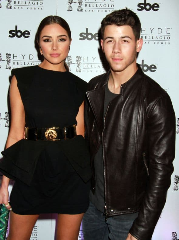 Nick Jonas hosts Hyde Bellagio's 3 Years On the Las Vegas Strip in Las Vegas - Arrivals Featuring: Nick Jonas, Olivia Culpo Where: Las Vegas, Nevada, United States When: 26 Apr 2015 Credit: DJDM/WENN.com