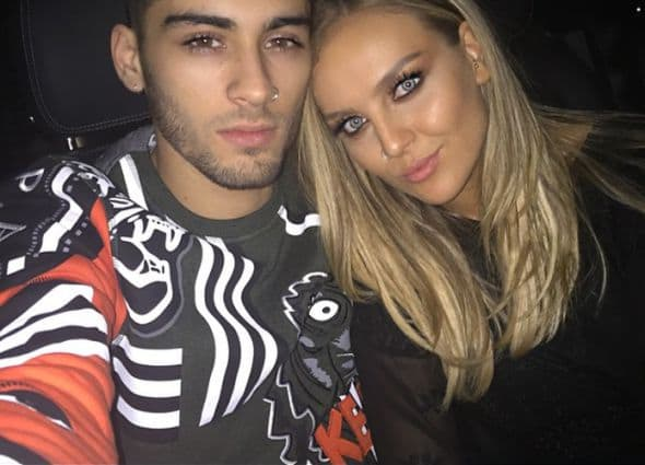 Zayn Malik and Perrie Edwards - instagram