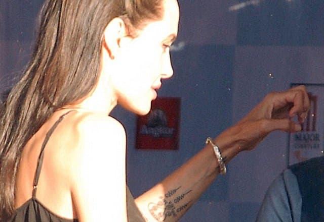 Endži već ima kolekciju tetovaža (foto: Tony Clark/Xposurephotos.com)