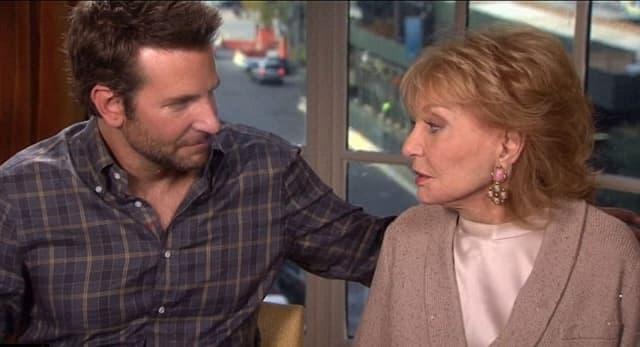 Barbara je za Bradley Coopera izjavila da je 'veoma, veoma seksi' (foto: Screenshot)