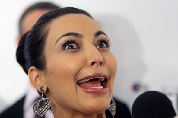 Kim Kardashian (foto: Rex)