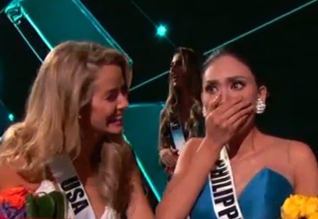 Filipinka je bila u potpunom šoku nakon što je voditelj rekao da je napravio grešku (foto: screenshot)