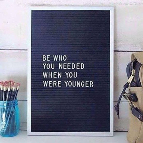 Citat koji je inspirisao mladog glumca (foto: Intagram)