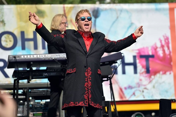 Elton John ( foto: facebook )