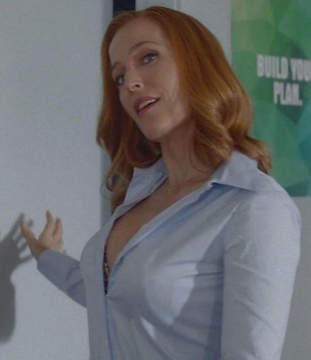 Mnogi su negativno komentarisali glumičin izgled u novim epizodama 'Dosijea X' (foto: Screenshot)