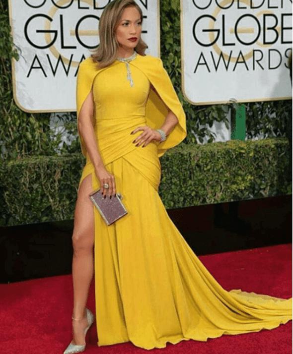 J.Lo na dodeli Zlatnih globusa ( foto: facebook )