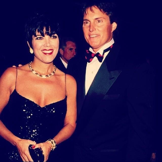 Kris Jenner i Bruce Jenner (foto: facebook)
