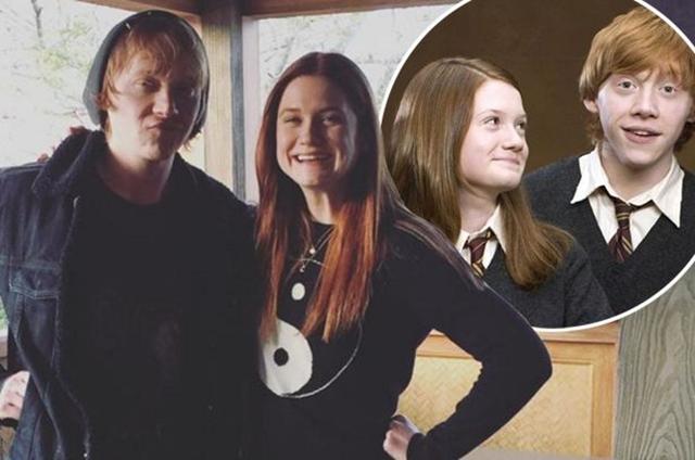 Nedavni susret brata i sestre Weasley (foto: Instagram)