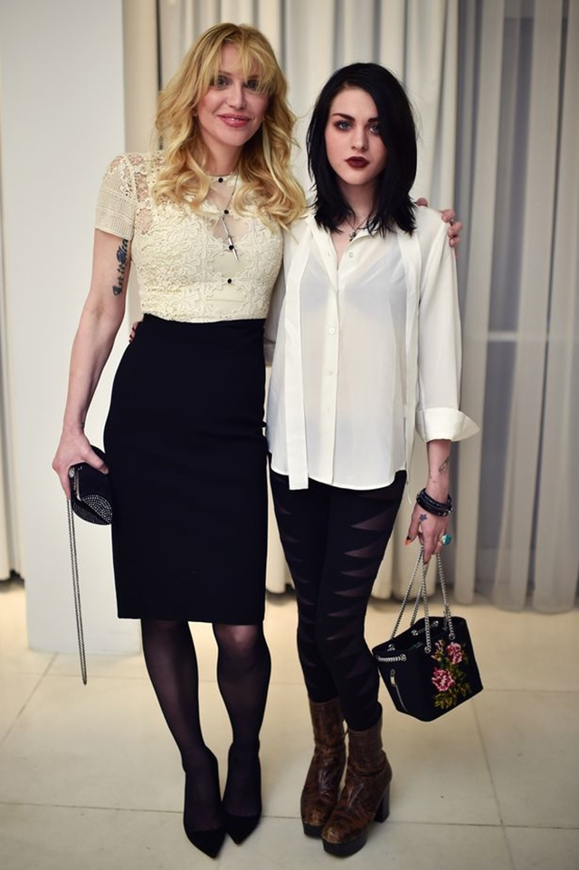 Courtney Love i Frances Bean Cobain ( foto: Rex)