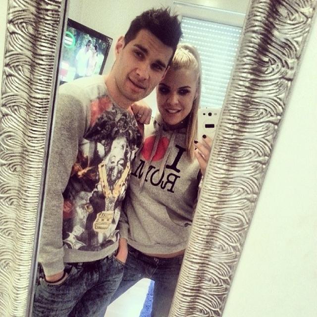 Martina sa verenikom Bogoljubom (foto: Instagram)