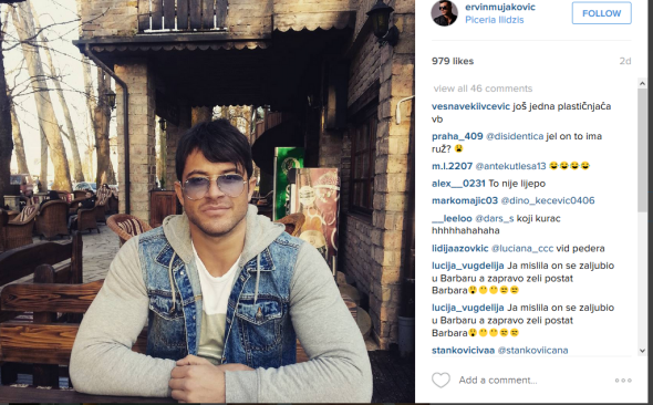instagram komentari