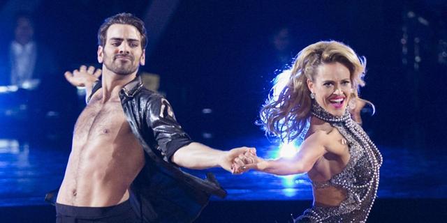 Kaže da je prato partnerku očima i tako plesao (foto: ABC)