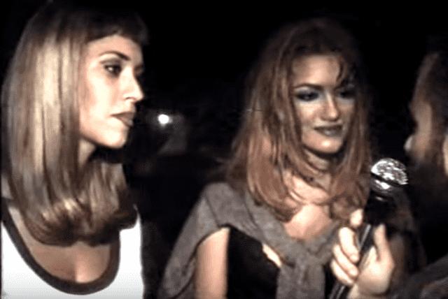 Sandra i Sindi su tada bile još uvek tinejdžerke i redovno su obilazile beogradske klubove (foto: Screenshot)