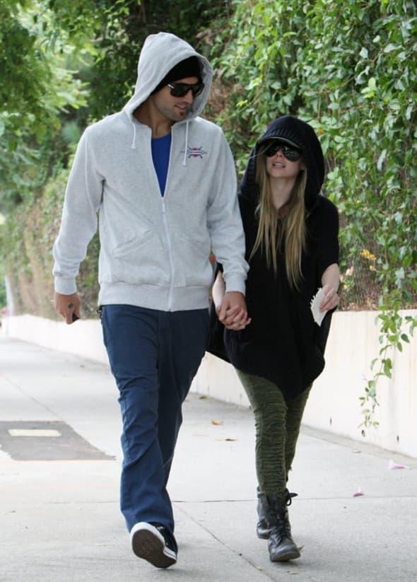 Avril Lavigne i Brody Jenner ( foto: WENN )