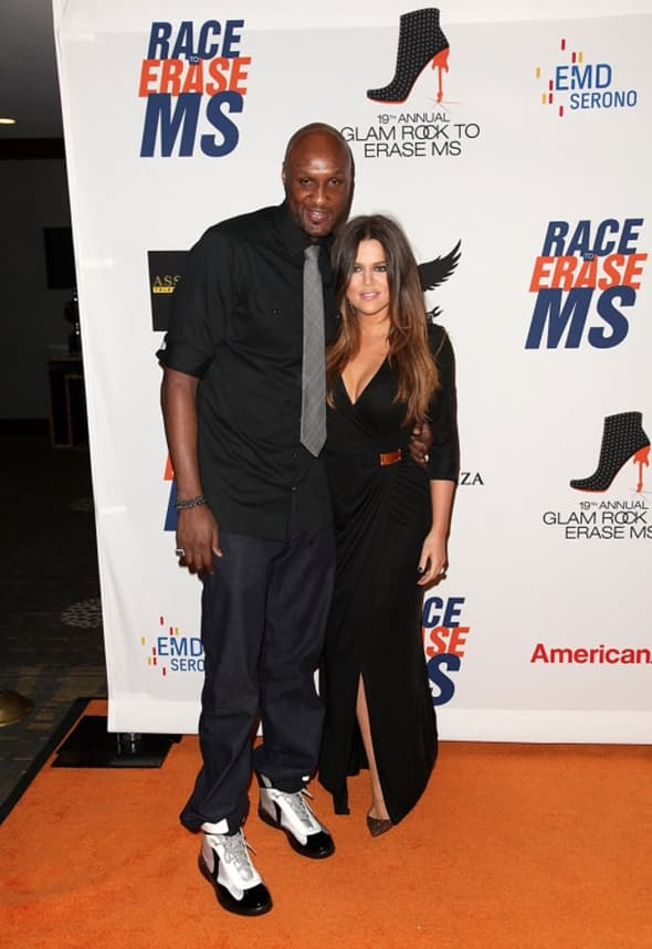 Khloe Kardashian i Lamar Odom ( foto: WENN )