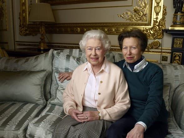 Kraljica i princeza Ana rs