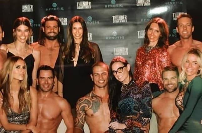 Sandra sa striperima i prijateljicama ( foto: instagram )