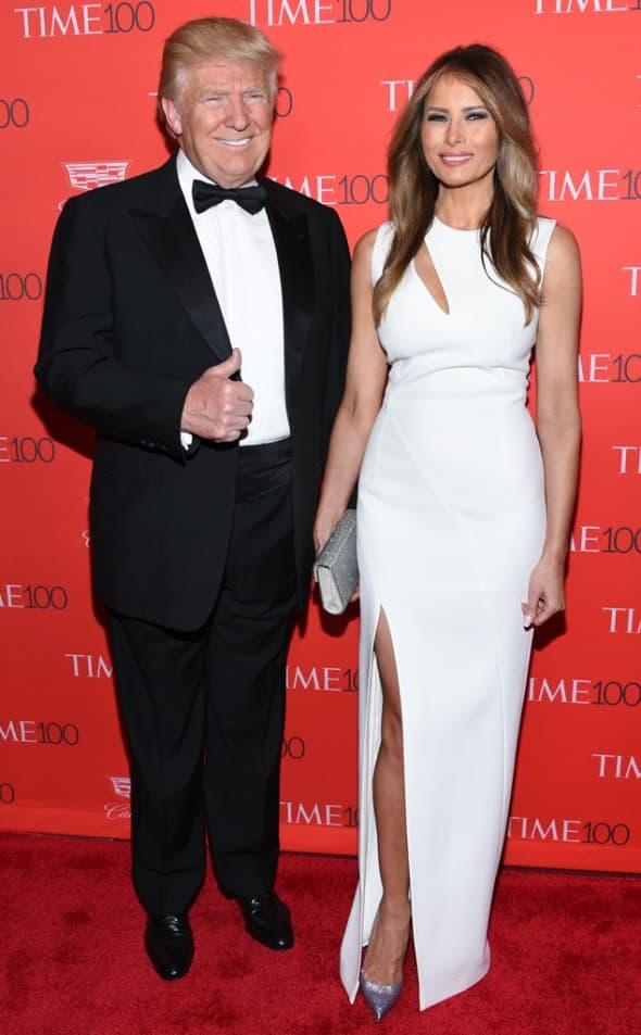 Donald Trump sa suprugom (foto: WENN)