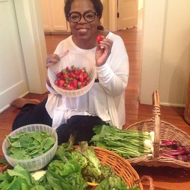Grickalice je zamenila voćem i povrćem (foto: Instagram)