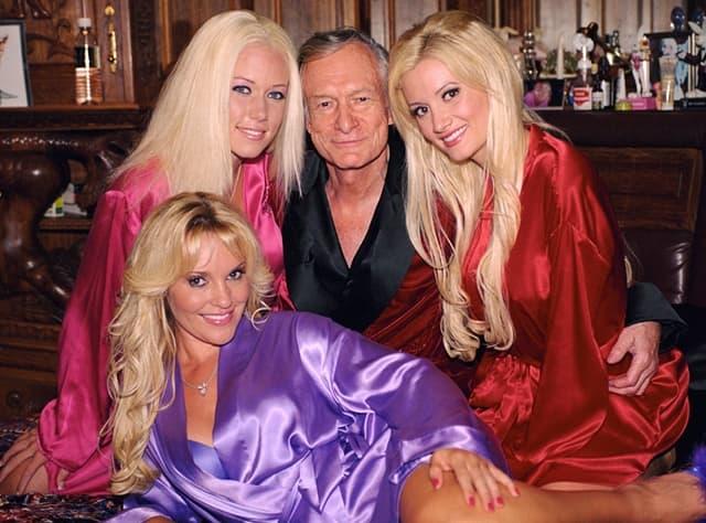 Kendra, Holly Bridget s bile devojke Hugh Hefnera i zvezde rijalitija 'The girls next door' (foto: Pinterest)