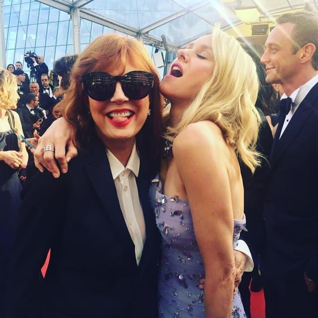Susan i Naomi na crvenom tepihu (foto: Instagram)