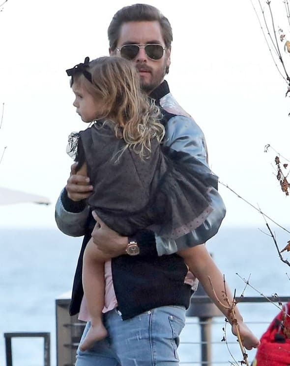 Scott i ćerka Penelope (foto: FameFlynet)