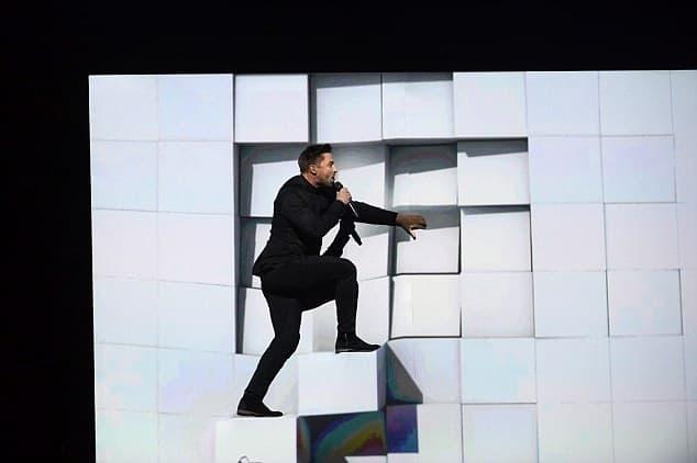 Ruski predstavnik je mnoge zadivio svojim nastupm, ali nije uspeo da pobedi (foto; EBU)
