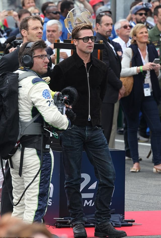 Brad je bio zvezda automobilske trke La Mans (foto: FameFlyNet)