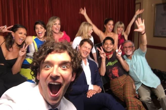 Glumci ponovo na okupu (foto: Whosay)
