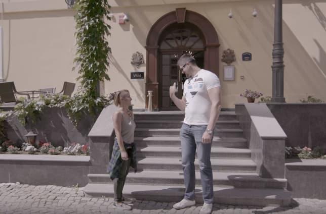 Darko Miličić kao div u spotu (foto: Screenshot)