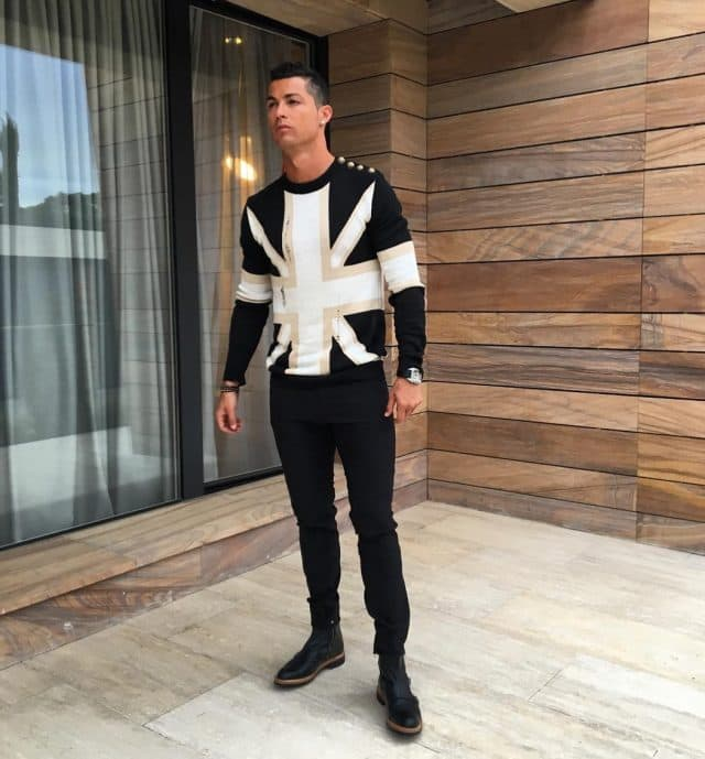 Ronaldova odevna kombinacija (foto: Instagram)
