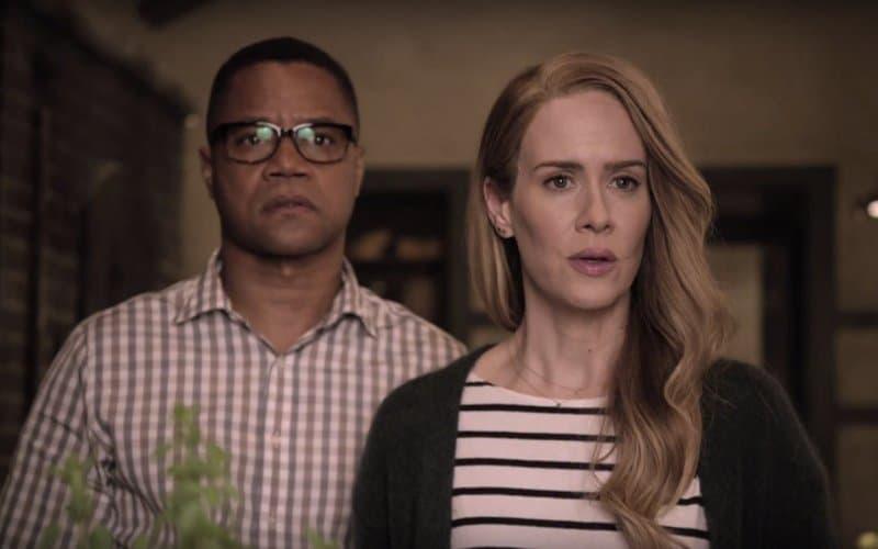 Cuba Godding Jr. i Sarah Paulson su glumci u dokumentranoj krimi seriji (foto: Screenshot)