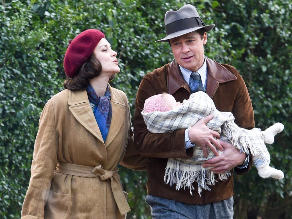 Brad i Marion u filmu 'Allied' (foto: Paramount)