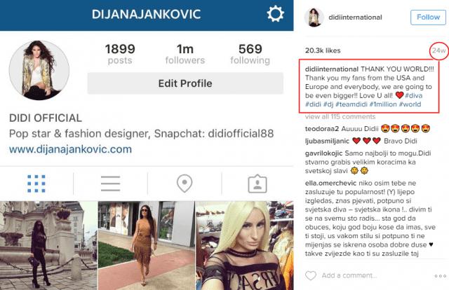 (foto: Screenshot/Instagram/didiinternational)