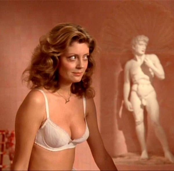 Susan u kultom filmu 'The Rocky Horror picture show' iz 1975. godine (foto: Twitter.com/susansarandon)