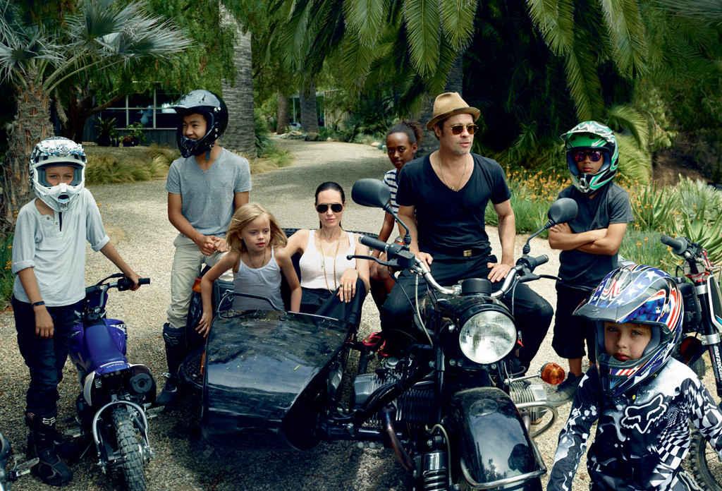 Brad želi da on i Angelina imaju zajedničko starateljstvo nad decom (foto: Vogue)