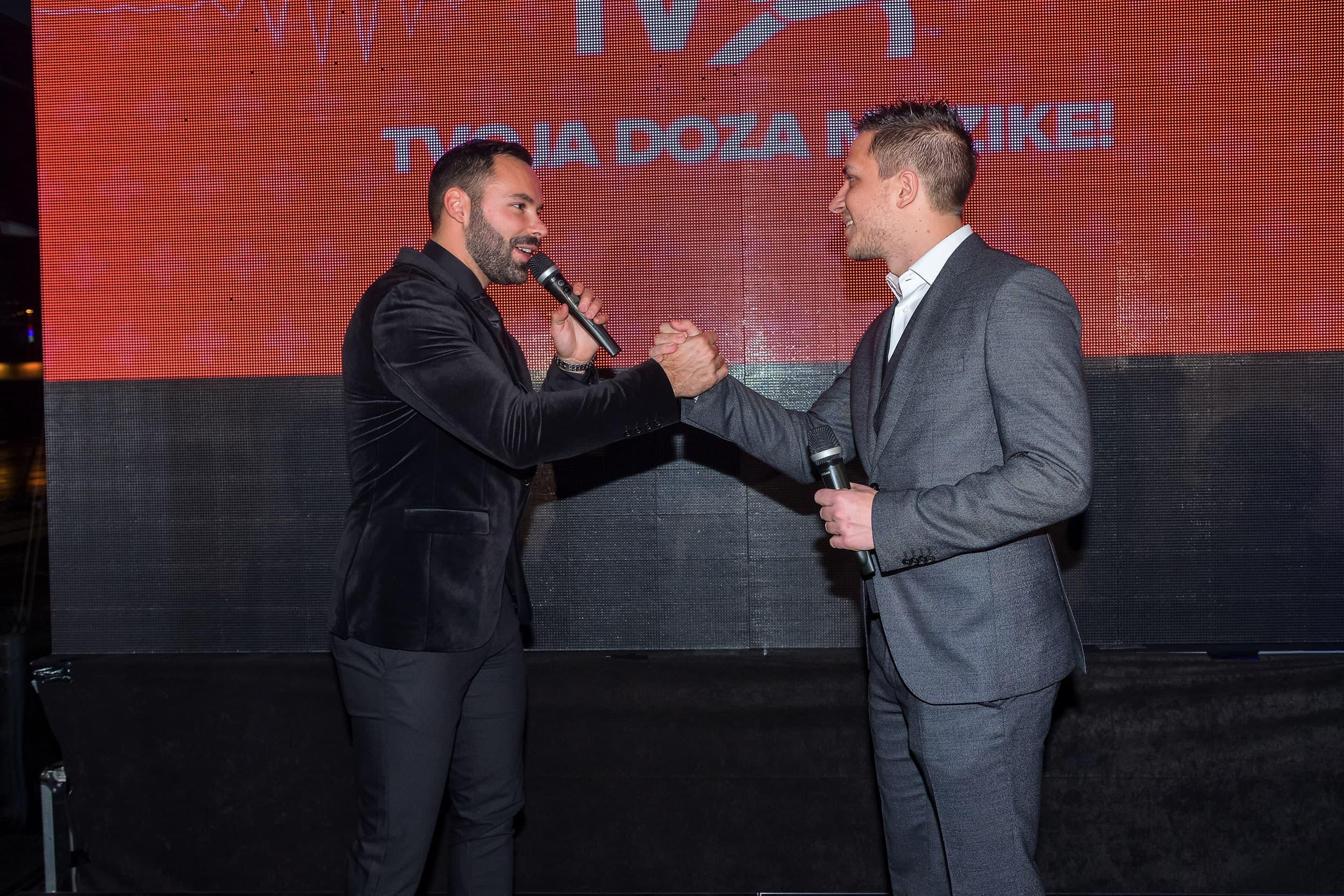 Osnivači IDJ televizije, Andrej Ilic Djordje Trbovic (foto: PR)