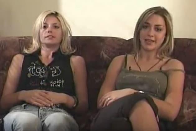 Ana i Marijanu u rijalitiju 'Jednistavn život' 2004. godine (foto: Screenshot)