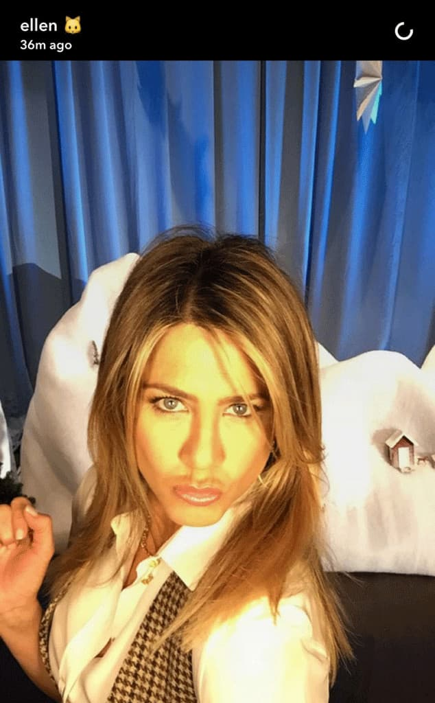 Ovo je Jennin prvi selfi (foto: Snapchat)