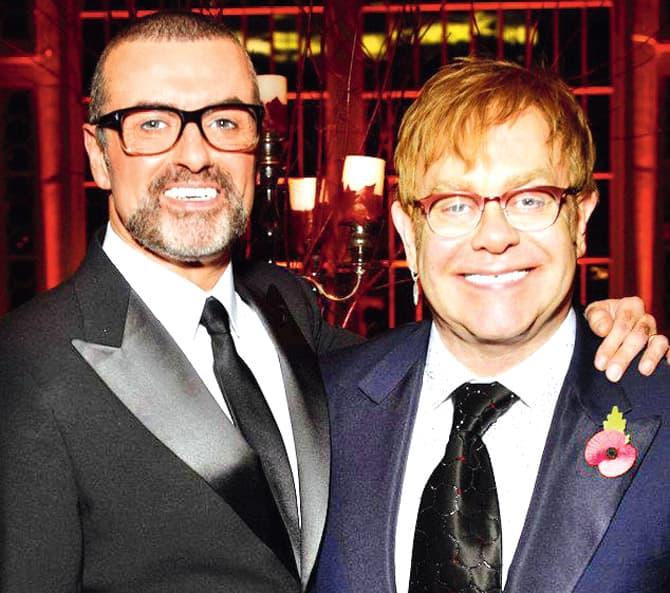 George i Elton su godinama bili bliski prijatelji (foto: Twitter.com/eltonofficial)