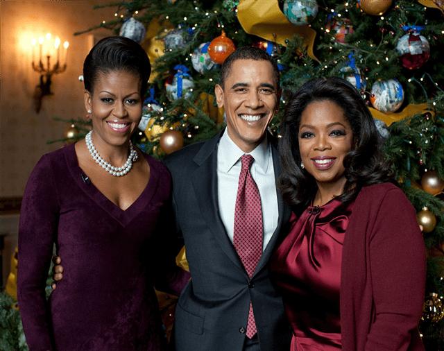 Michelle, Barack i Oprah