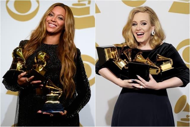 Beyonce i Adele boriće se za prestižnu nagradu (foto: Wenn)