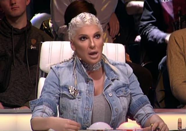 Jeleni se nije dopao izbor pesme kandidatkinje (foto: Screenshot)