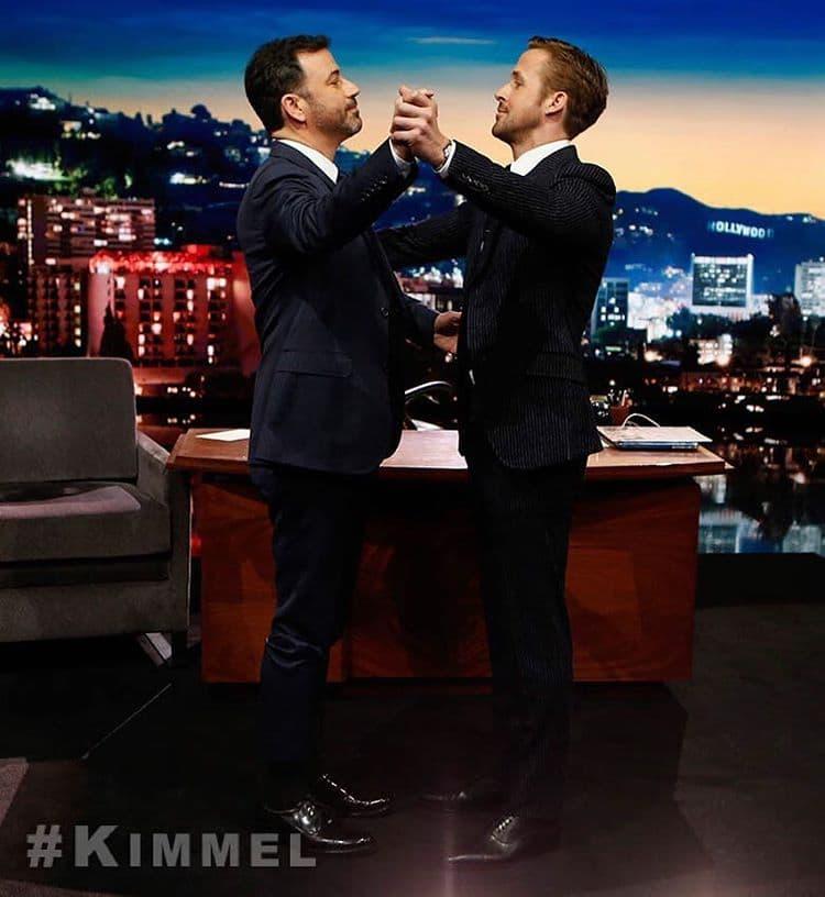 Jimmy i Ryan u plesnom zanosu (foto: Instagram/jimmykimmellive)