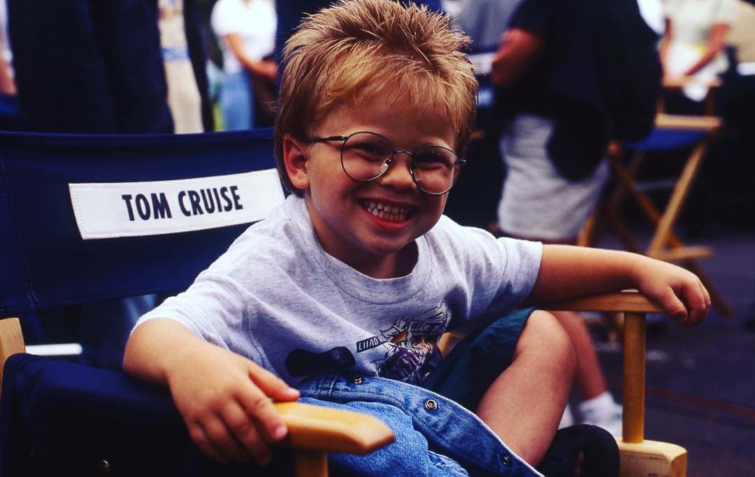 Mladi Jonathan na snimanju 'Jerry Maguire'-a 1996. godine (foto: Instagram.com/jonathanlipnicki)