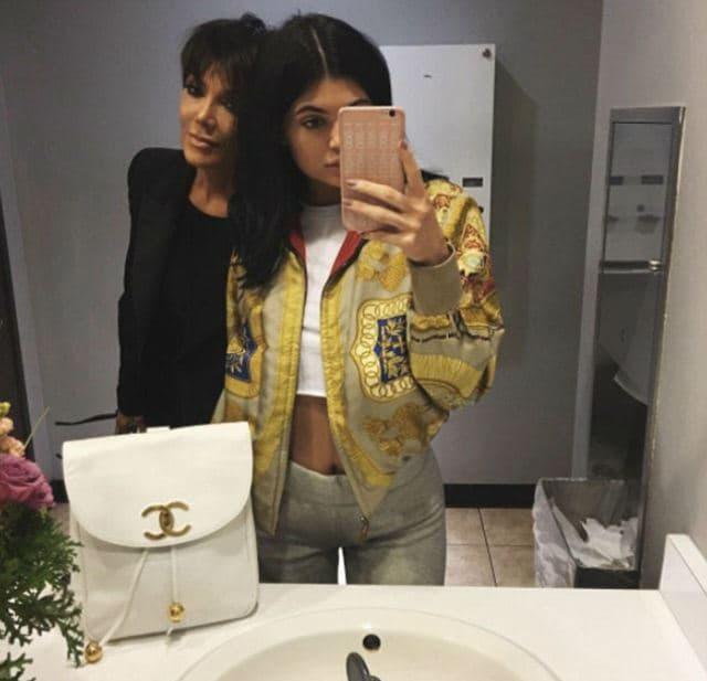 Kylie i Kris (foto: Instagram/kyliejenner)