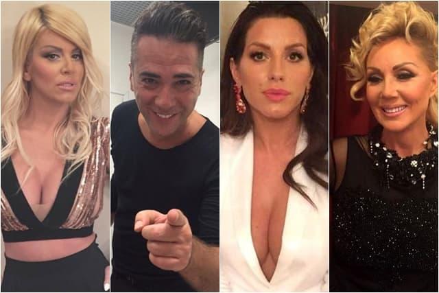 Ogromni honorari za naše zvezde za nastup u Novoj godini (foto: Instagram/darabubamara_official/zzeljko/seka_aleksic/lepabrenaa)